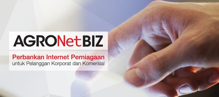 AGRONetBIZ (Perbankan Internet Perniagaan)