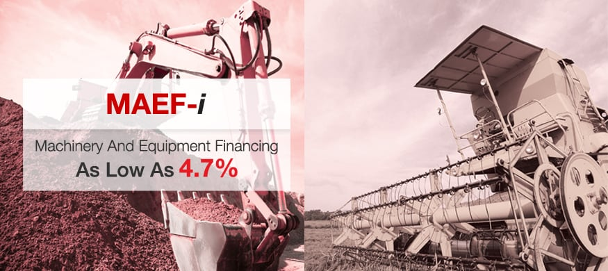 Machinery & Equipment Financing-i (MAEF-i)