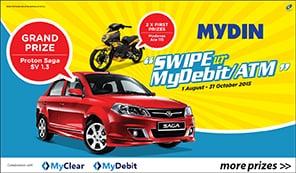 Swipe ur MyDebit/ATM