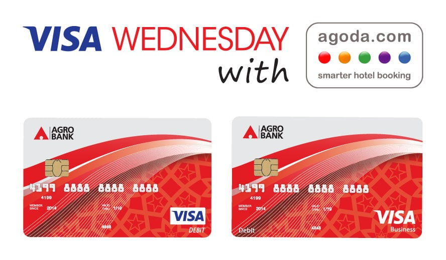 "Visa Wednesday"" with Agoda.com"