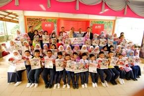 Gallery - Majlis Penyerahan Mock Cheque Akhbar Tutor Tajaan Agrobank