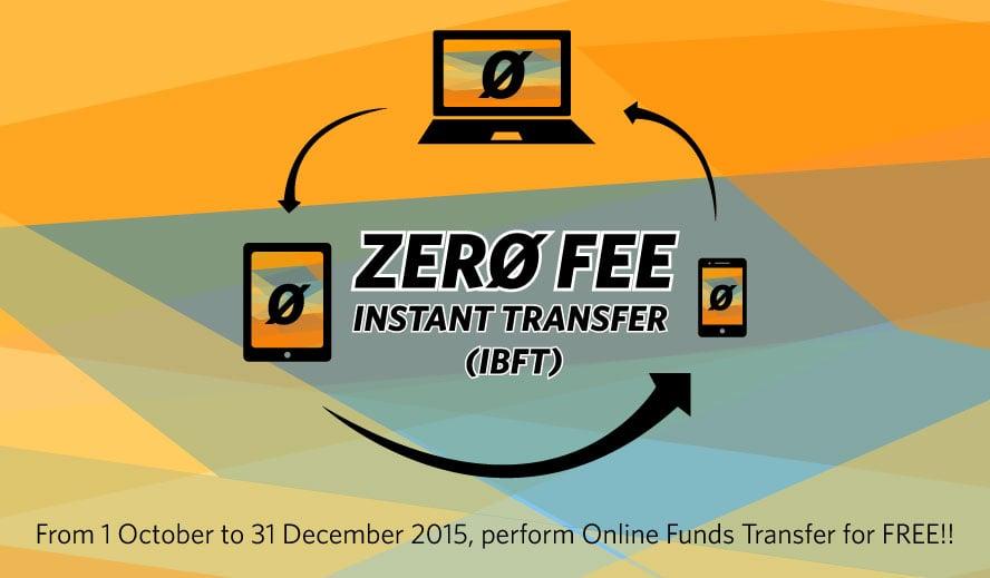 Zero Fee Instant Transfer (IBFT)