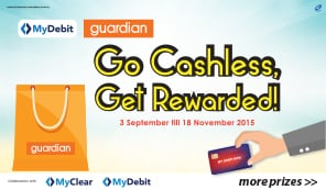 Go Cashless Get Rewarded!