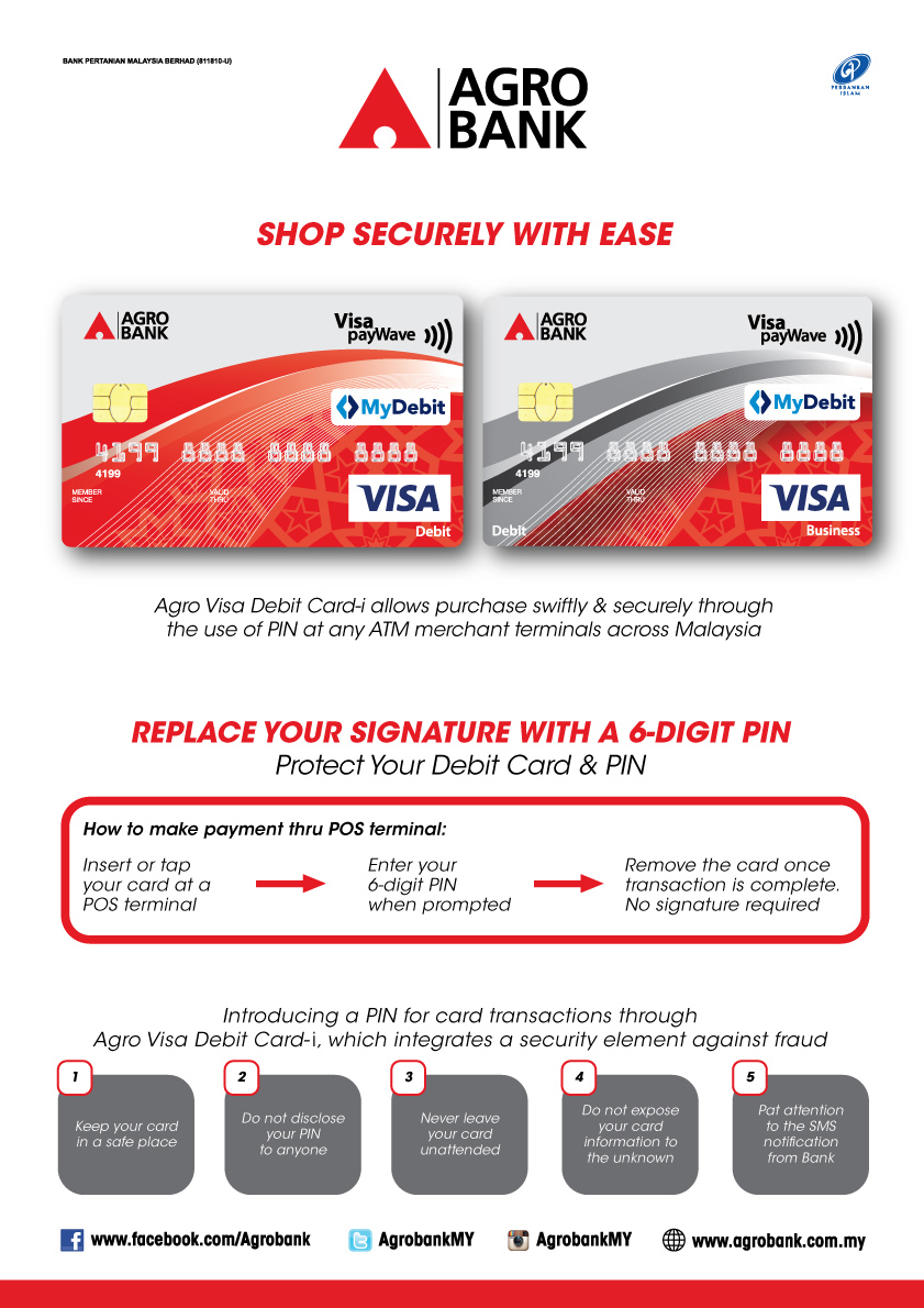 Agro Visa Debit Card-i – Agrobank