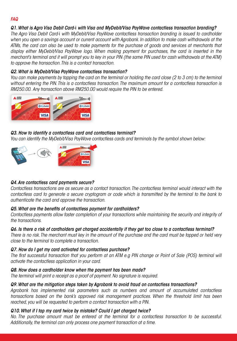 Agro Visa Debit Card I Agrobank