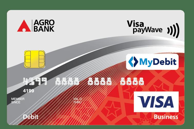 Agro VISA Business Debit Card i – Agrobank