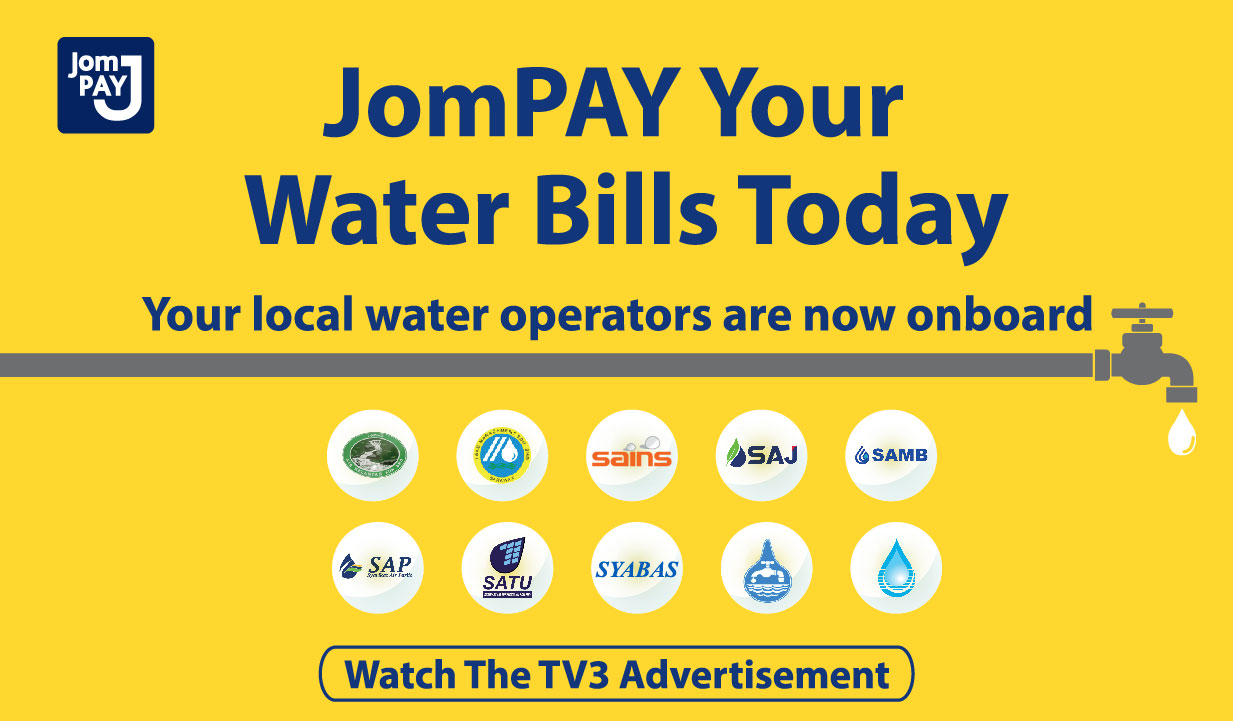 JomPAY Your Water Bills Today