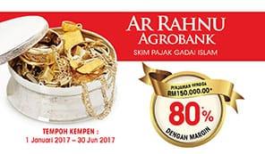 Kempen Margin Pinjaman Sehingga 80%