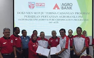 Gallery - Agrobank And UPM Collaborate On A New Certification Programme