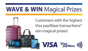 Visa PayWAVE WAVE & WIN