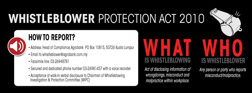 Whistleblower Protection Act 2010