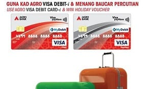 Sign Up, Transact through AGRO Visa Debit Card-i & Win Holiday Voucher