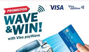 Wave & Win with Visa Paywave