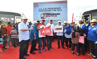 """Gallery - Majlis Perasmian Perkhidmatan Bas  """"Kemaman Shuttle"""" @ Padang Awam Kampung Paya, Berenjut"""
