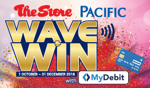 Thumbnail - The Store Pacific Wave & Win with MyDebit