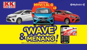 "KK Super Mart: ""Wave"" & Menang"