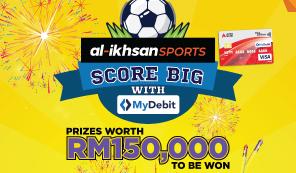al-Ikhsan: Score Big with MyDebit