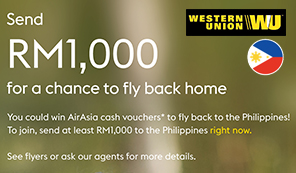 The Western Union Philippine Flyback Promotion