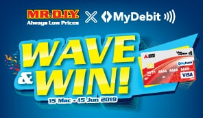 MyDebit Promotion with Mr DIY