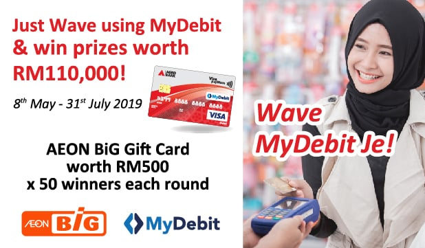 MyDebit Promotion with AEON BIG
