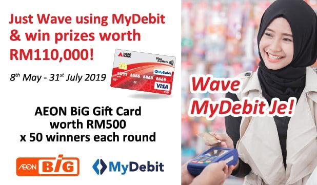 Promosi MyDebit bersama AEON BIG