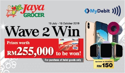 MyDebit Campaign with Jaya Grocer