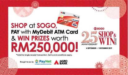 MyDebit Campaign with SOGO