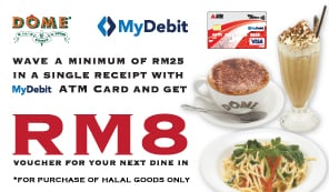 MyDebit Campaign with DOME cafe