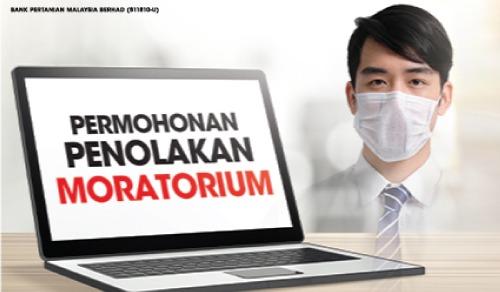 Permohonan Menolak Penangguhan Bayaran (Moratorium)