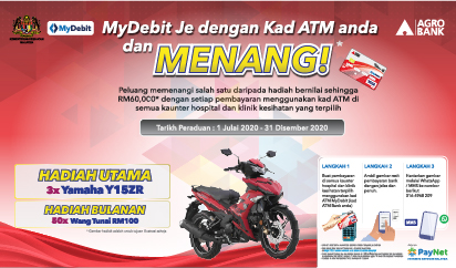 MyDebit campaign with KKM