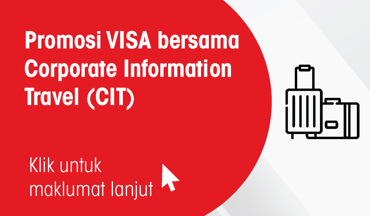 VISA campaign with CIT Travel