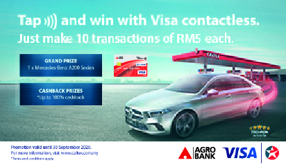 Tap to Win at Caltex