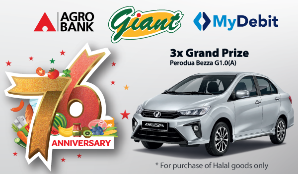 Thumbnail - MyDebit Campaign with Giant in conjunction 76 Anniversary