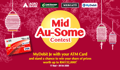Mercato Mid Au-Some Contest MyDebit Je With Your ATM Card