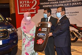 Gallery - Majlis Penyampaian Hadiah Utama Cabutan Perdana Kempen Kita-kita Aje 2 (KKA2)