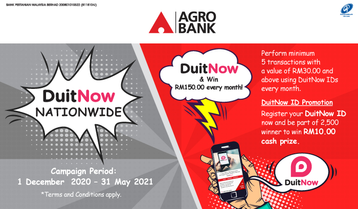 Thumbnail - DuitNow & Win RM150.00 every month!